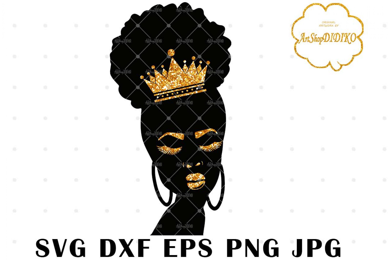 Black Girl Magic Crown 1 SVG, African American SVG