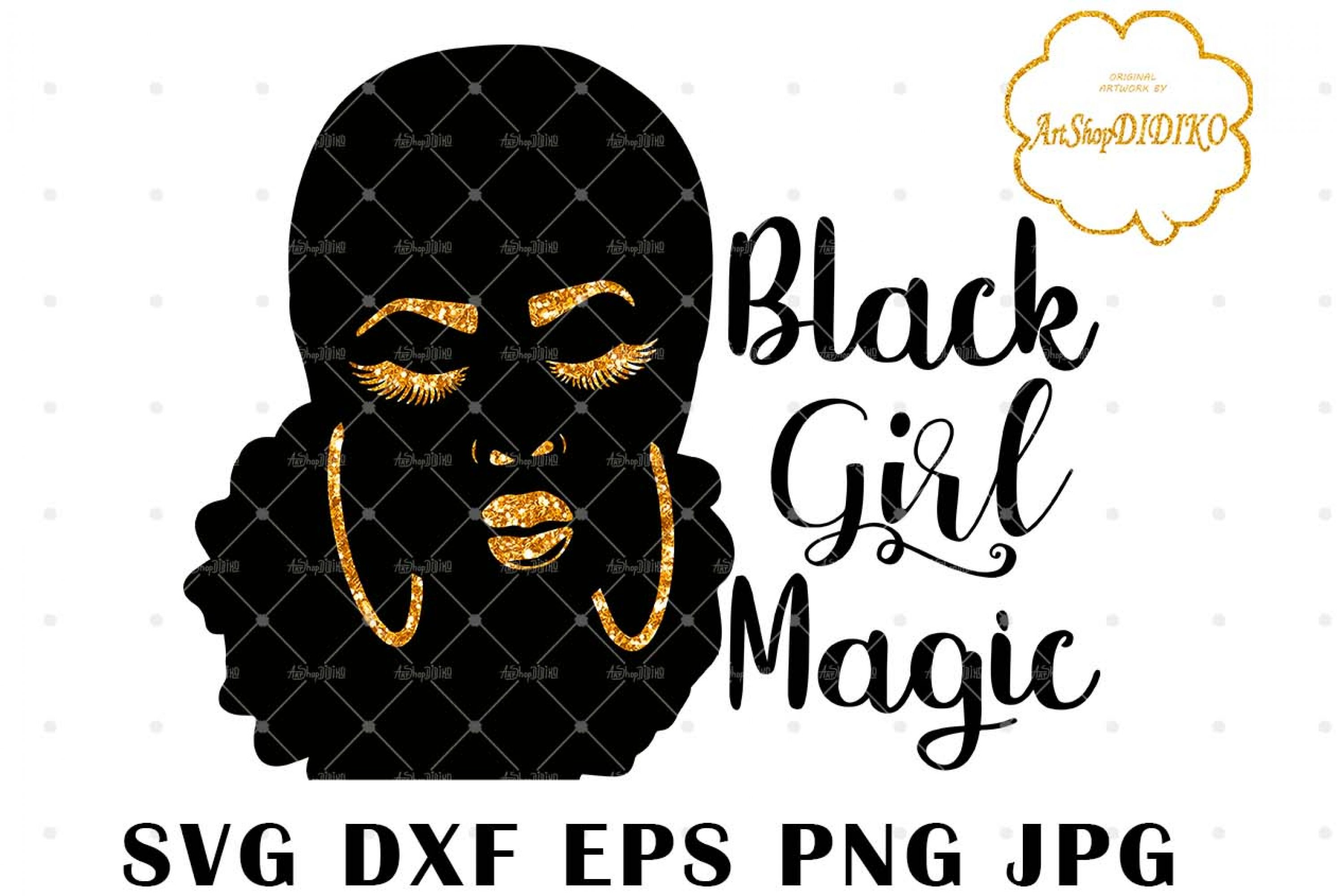 Black Girl Magic 2 SVG, African American SVG