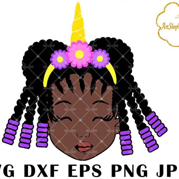 Download AFRO GIRL SVG | DIDIKO designs