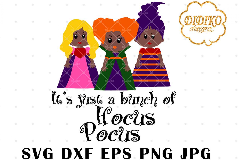 African American Hocus Pocus 3 SVG, Halloween SVG