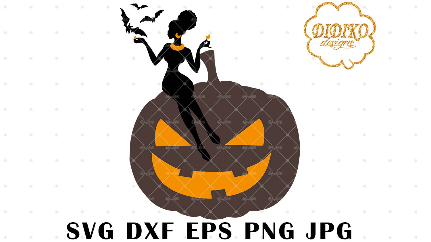 African American Boss Lady Svg 3 Halloween Svg Didiko Designs