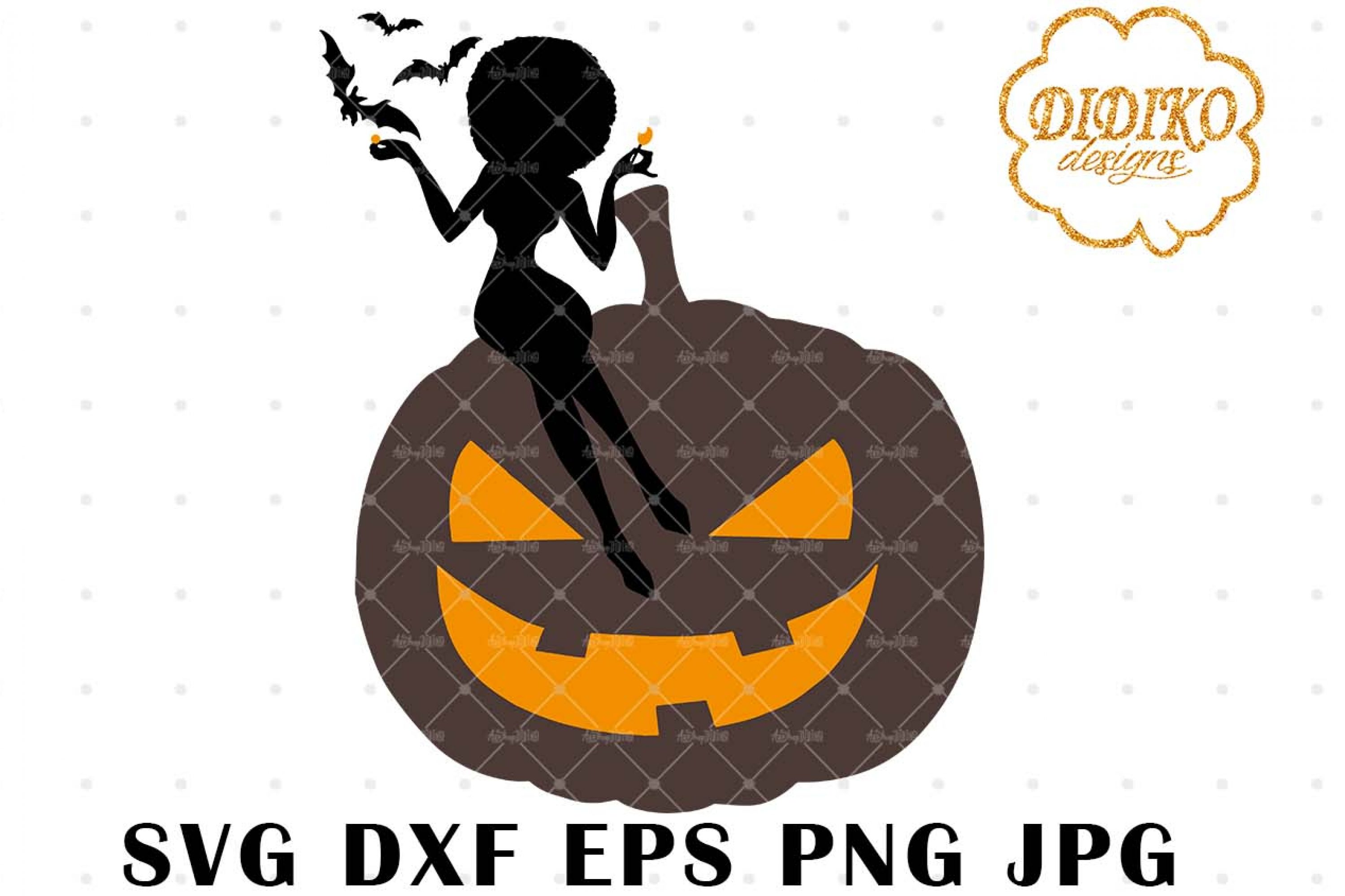 African American Boss Lady SVG 4, Halloween SVG