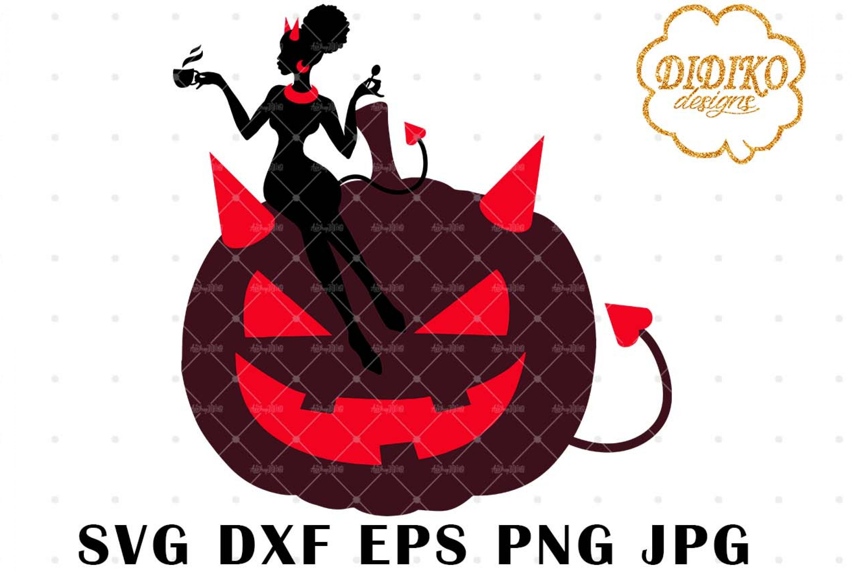 African American Boss Lady SVG 5, Halloween SVG