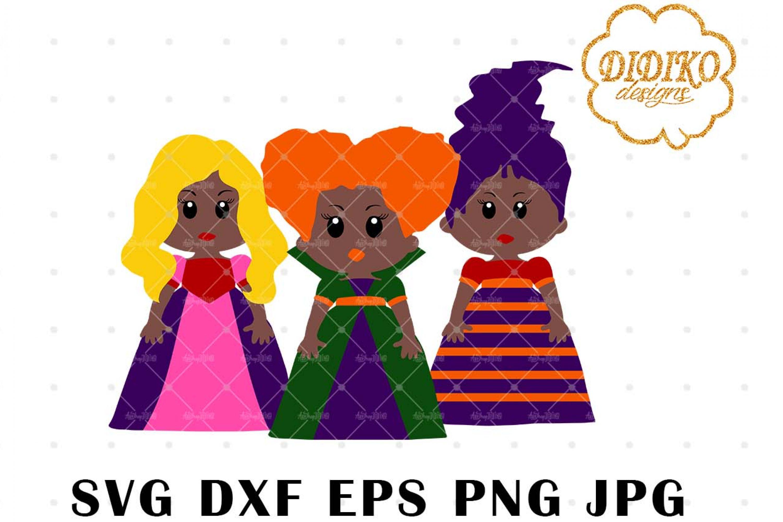 African American Hocus Pocus 1 SVG, Halloween SVG