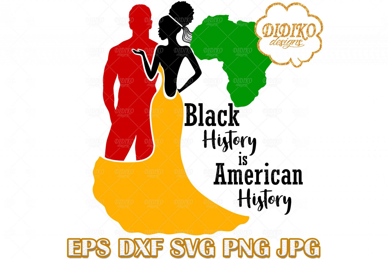 Black Couple SVG #4, Afro Wedding SVG, Afro Woman SVG, Africa SVG, Black History SVG, Cricut File
