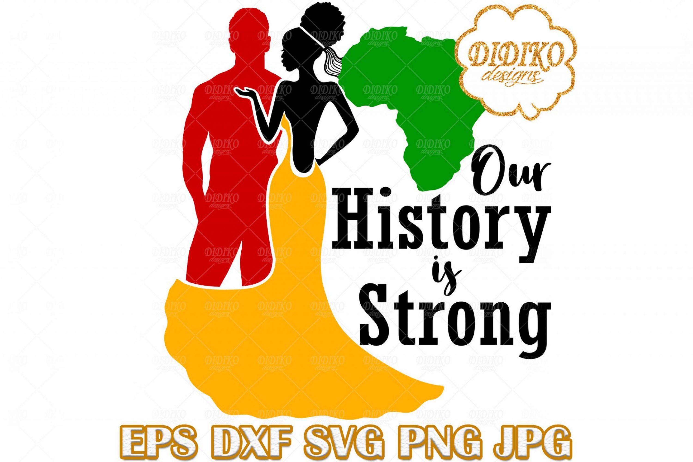 Black Couple SVG #3, Afro Wedding SVG, Afro Woman SVG, Africa SVG, Black History SVG, Cricut File