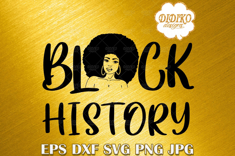 Black History SVG, Black Queen Woman SVG, Black History Month SVG, Cricut File
