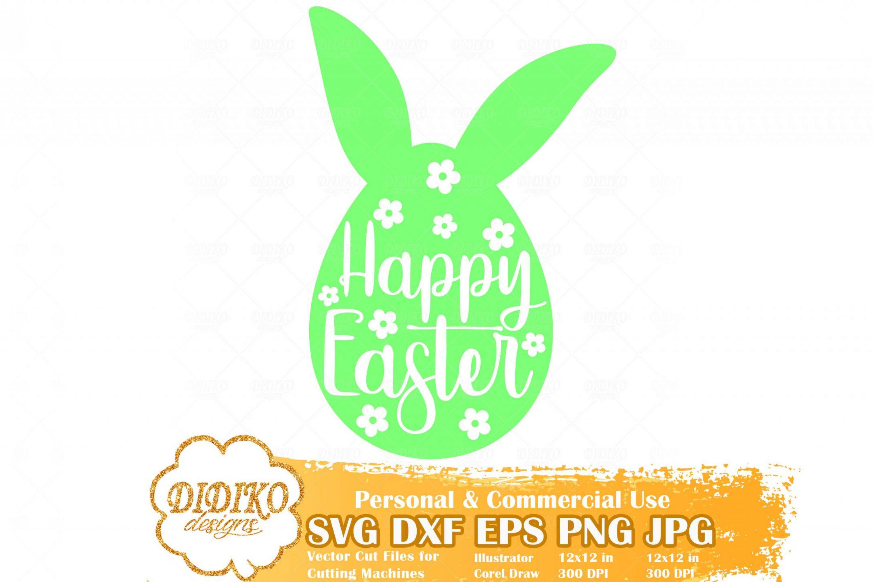 Happy Easter Free SVG, Easter Free SVG, Easter Egg Free SVG, Free Svg For Kid, Cricut File