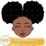 Black Girl SVG #1