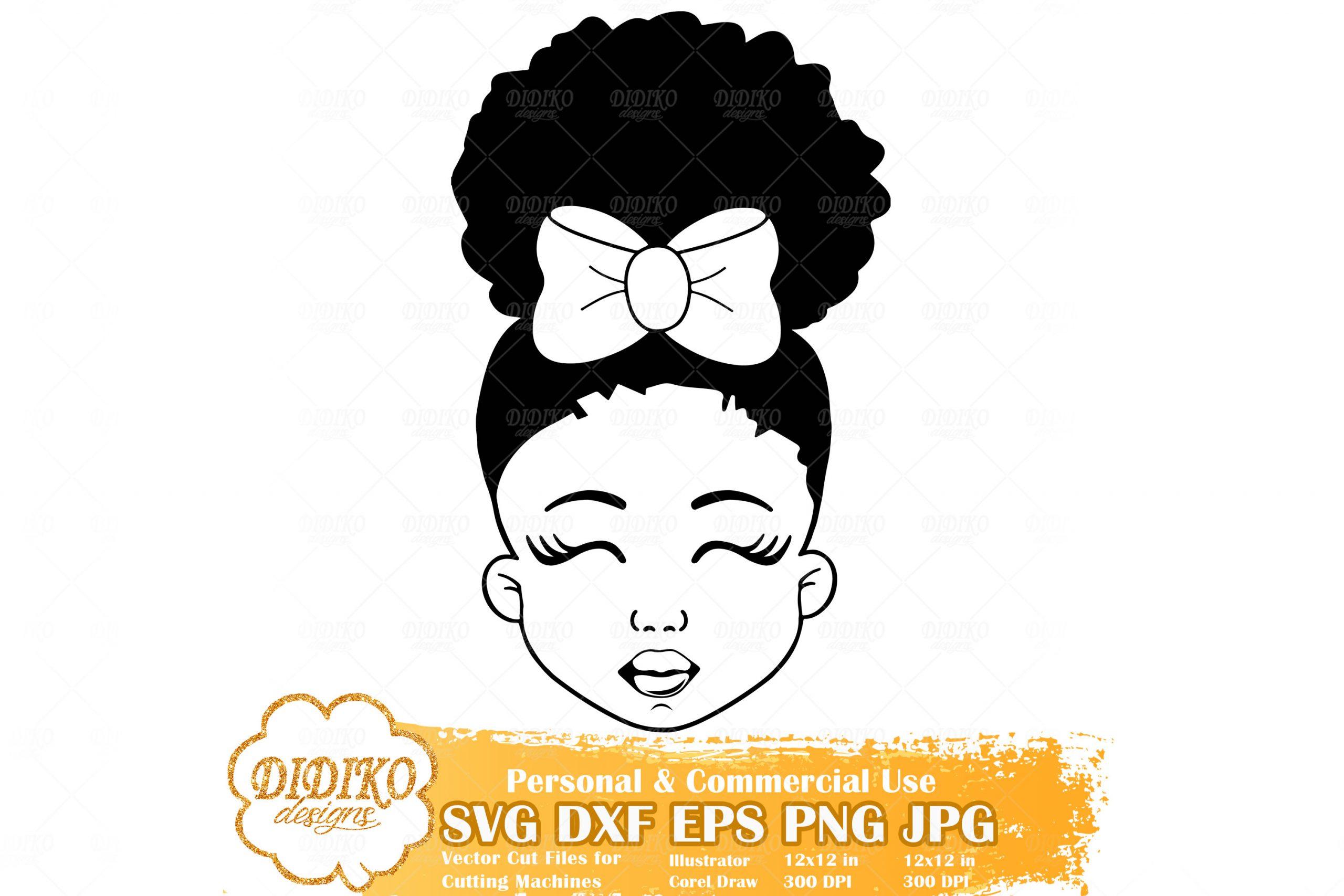 Girl afro vector black Black Girl
