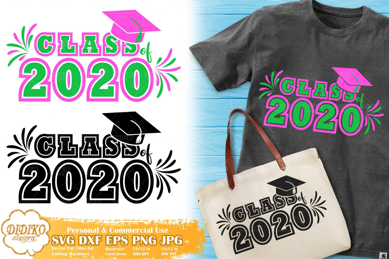 Class Of 2020 SVG #2 | Sorority SVG | Graduation SVG