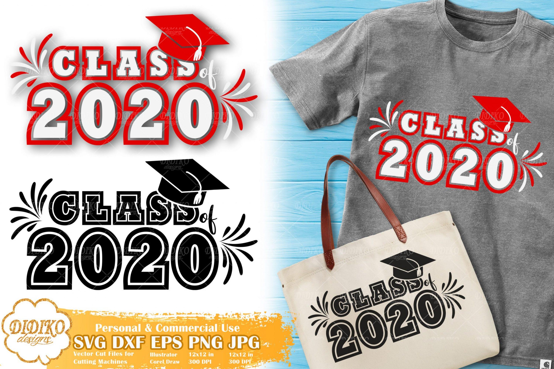 Class Of 2020 SVG #3 | Sorority SVG | Graduation SVG