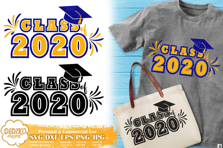 Class Of 2020 SVG #4 | Sorority SVG | Graduation SVG