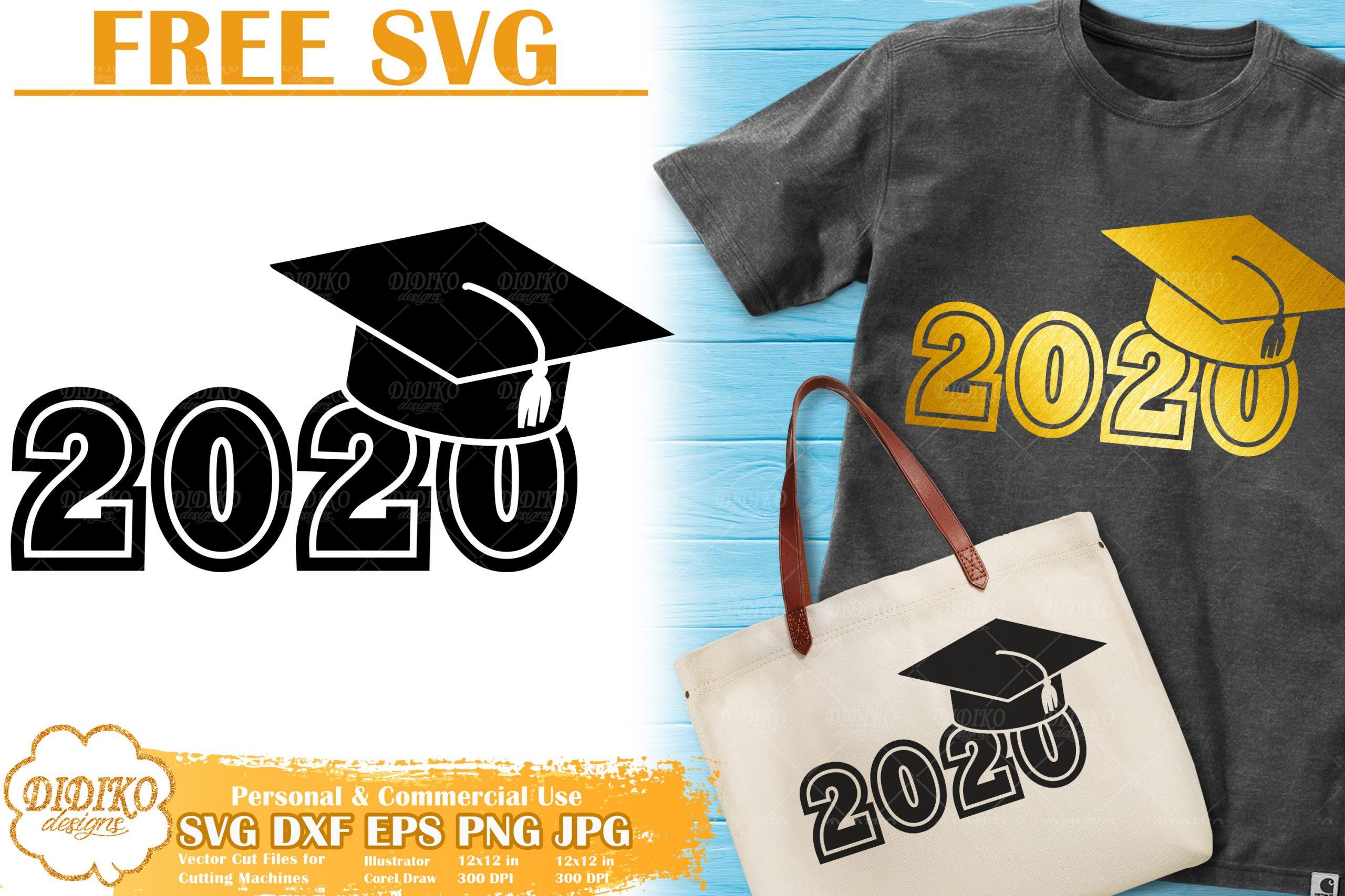 Download Graduation 2020 Free SVG | Class of 2020 SVG Cricut ...