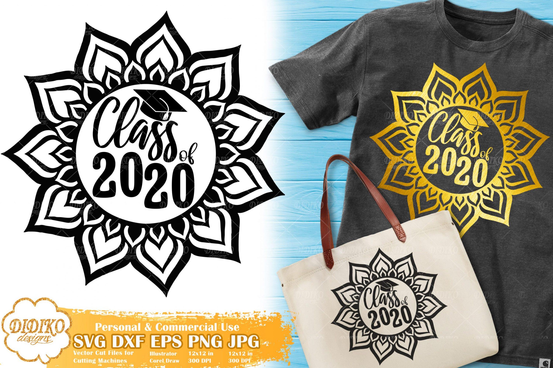 Class Of 2020 SVG | Mandala SVG | Zentangle SVG