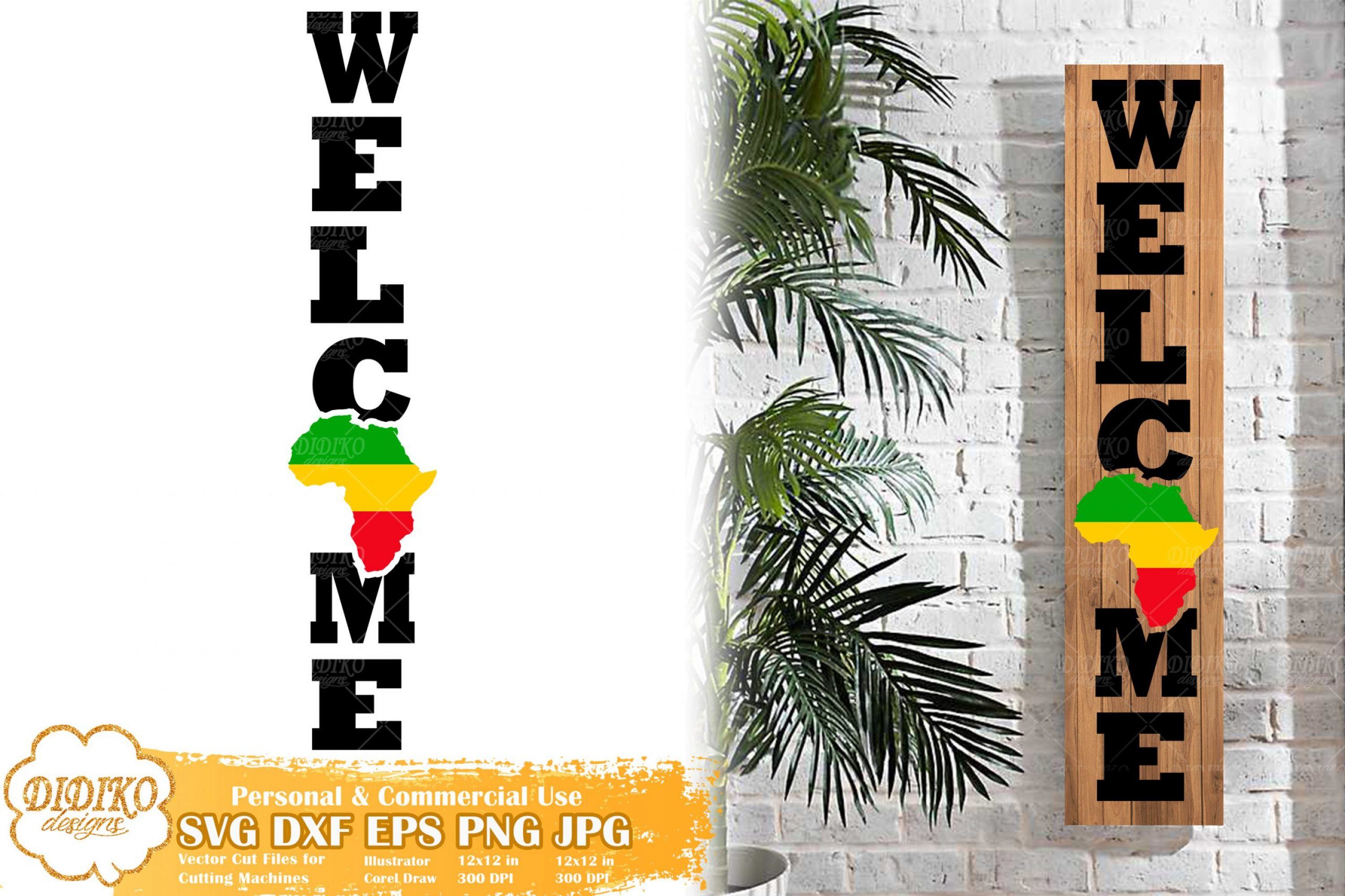 Africa Welcome SVG #1 | Black History Month SVG