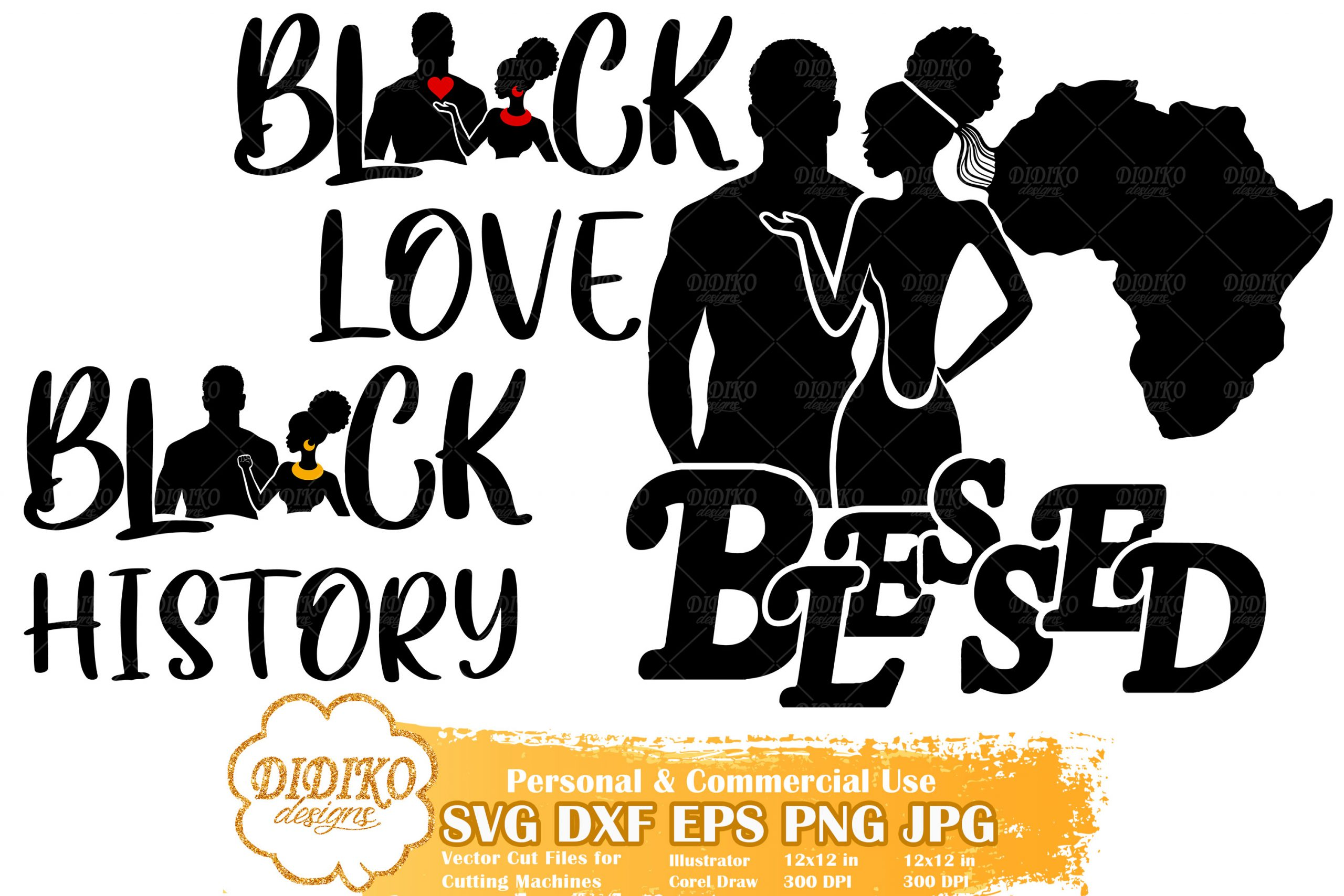 Black History Bundle SVG #2