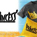 Black Princess SVG #6