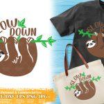 Sloth Slow Down SVG