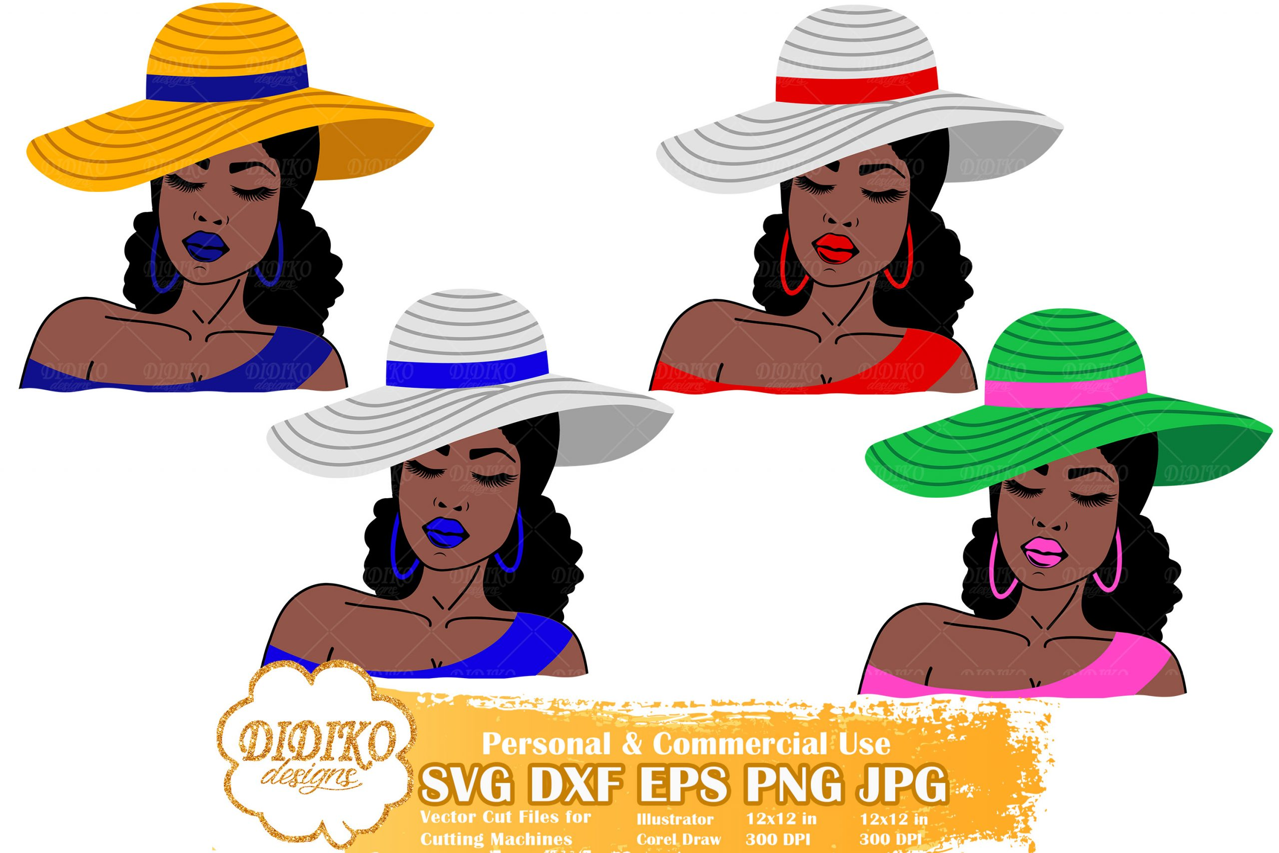 Black Woman Sorority SVG