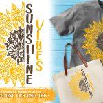Sunflower Zentangle SVG