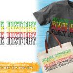 Black History Stacked SVG