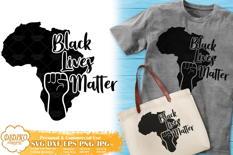 Black Lives Matter SVG #7 | Black Power Fist SVG File