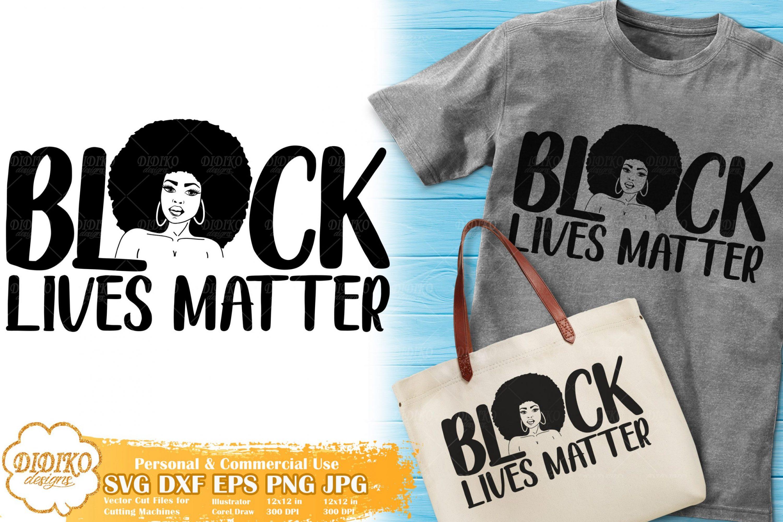 Black Lives Matter SVG #4 | Black Woman Power SVG