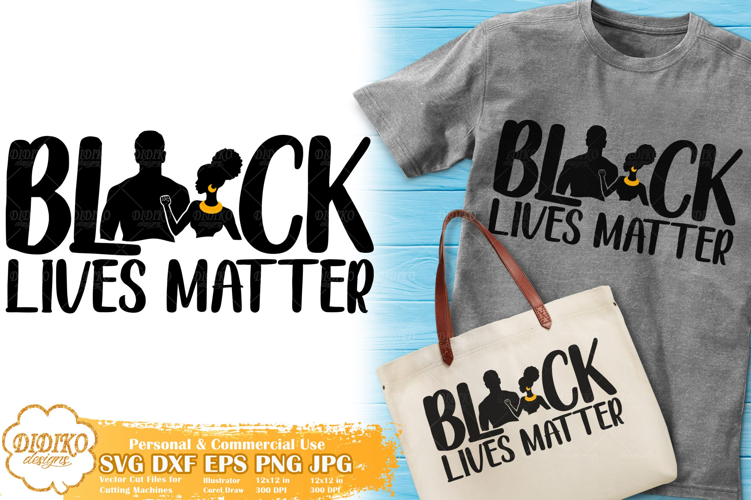 Black Lives Matter Svg 5 Black Couple Love Svg Didiko Designs