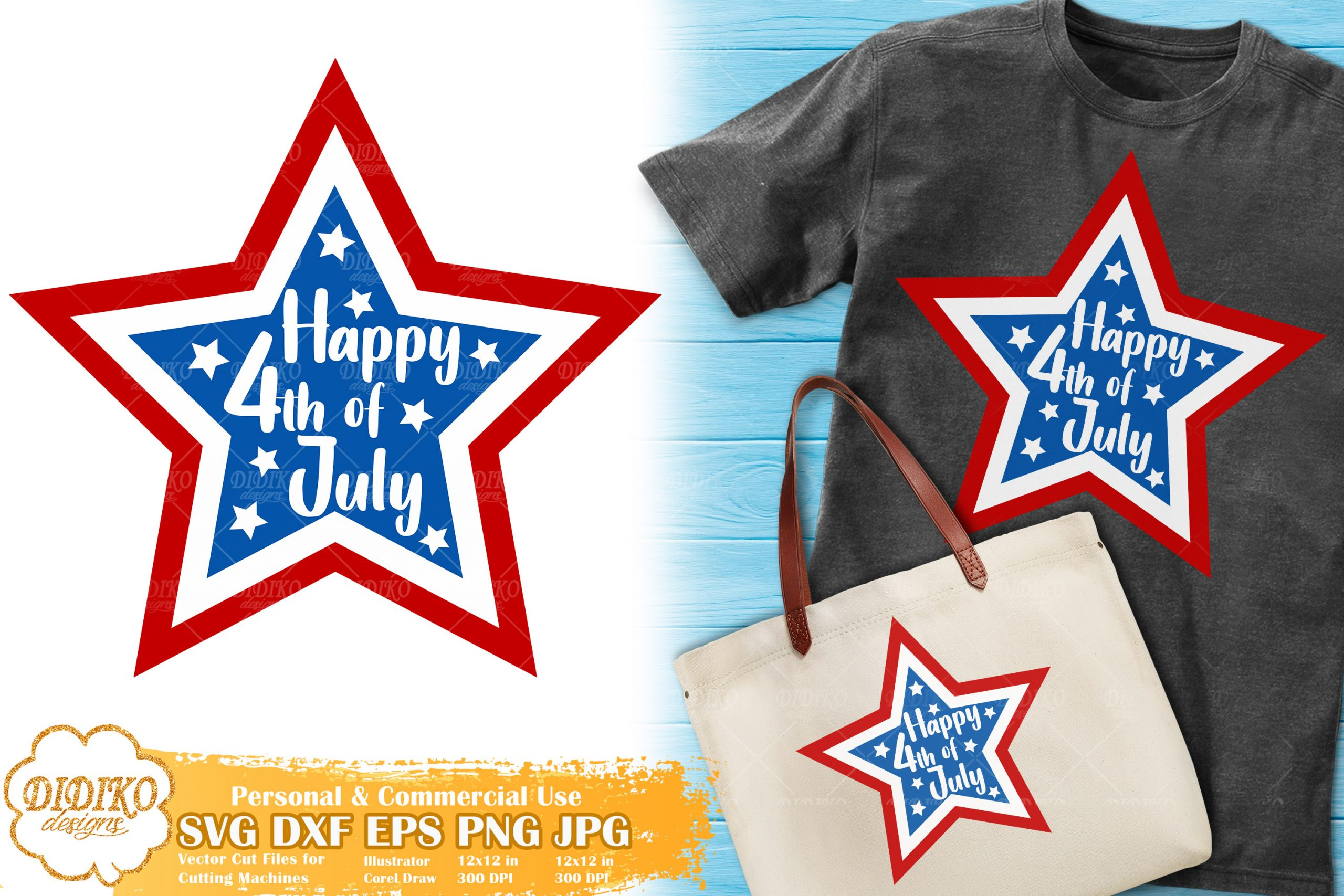 4th of July SVG for Kids