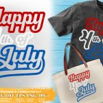 Happy 4th of July SVG #2
