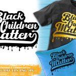 Black Child SVG #1