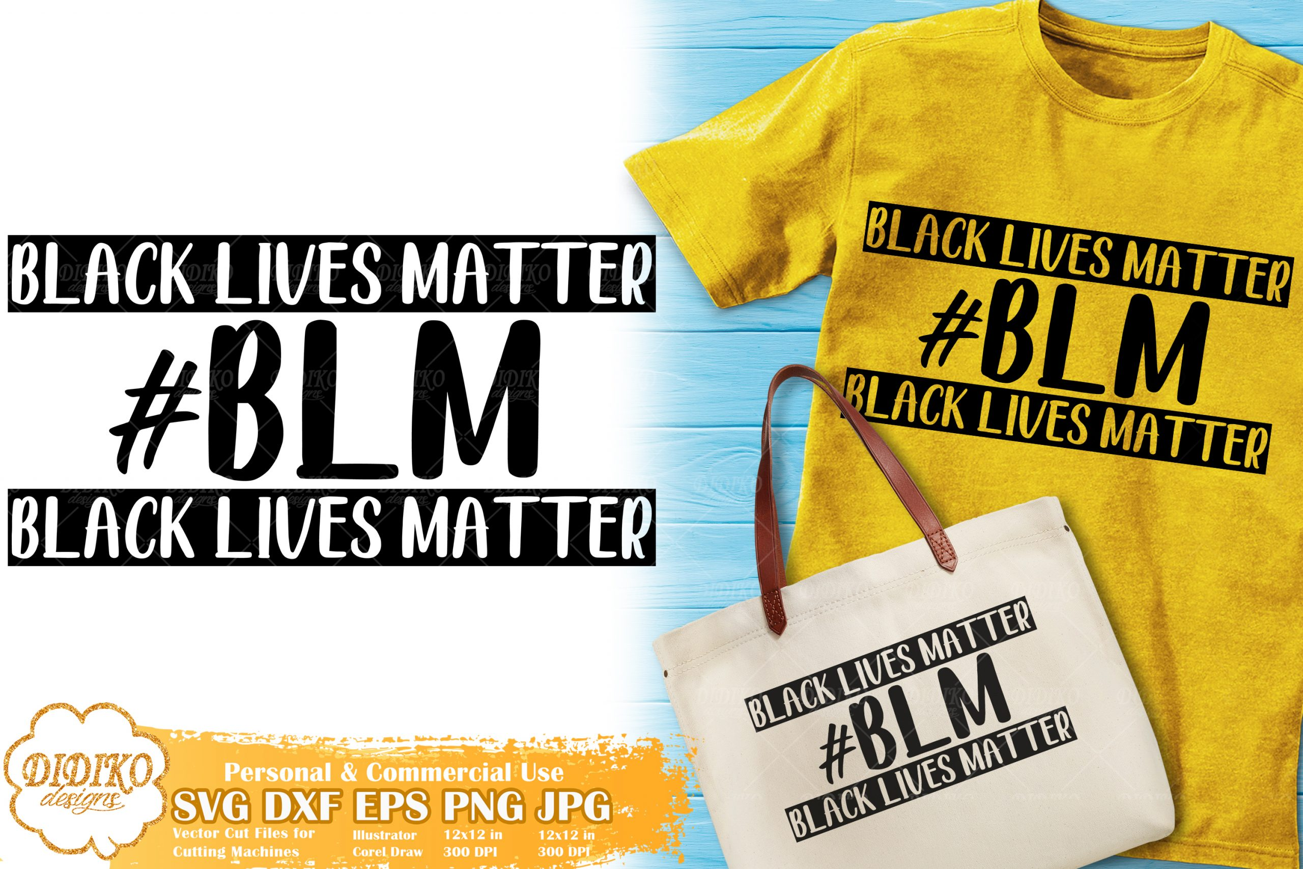 Black Lives Matter Svg 13 Black Woman Cut File Didiko Designs