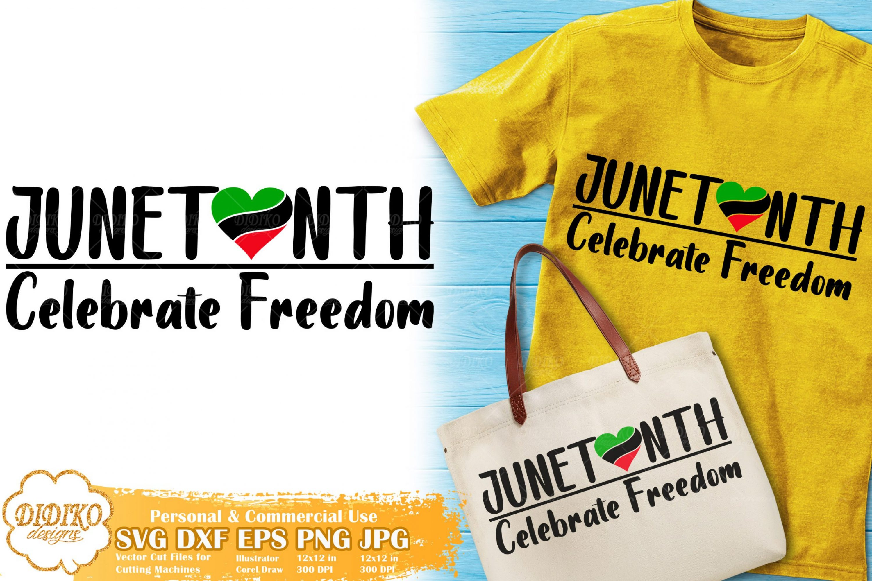 Juneteenth SVG #4 | Celebrate Freedom | Black History