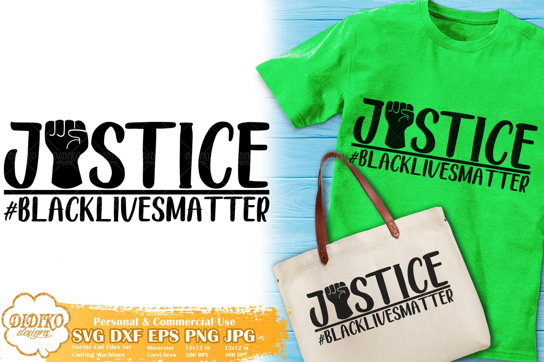 No Justice No Peace SVG #3 | Black Lives Matter cut file