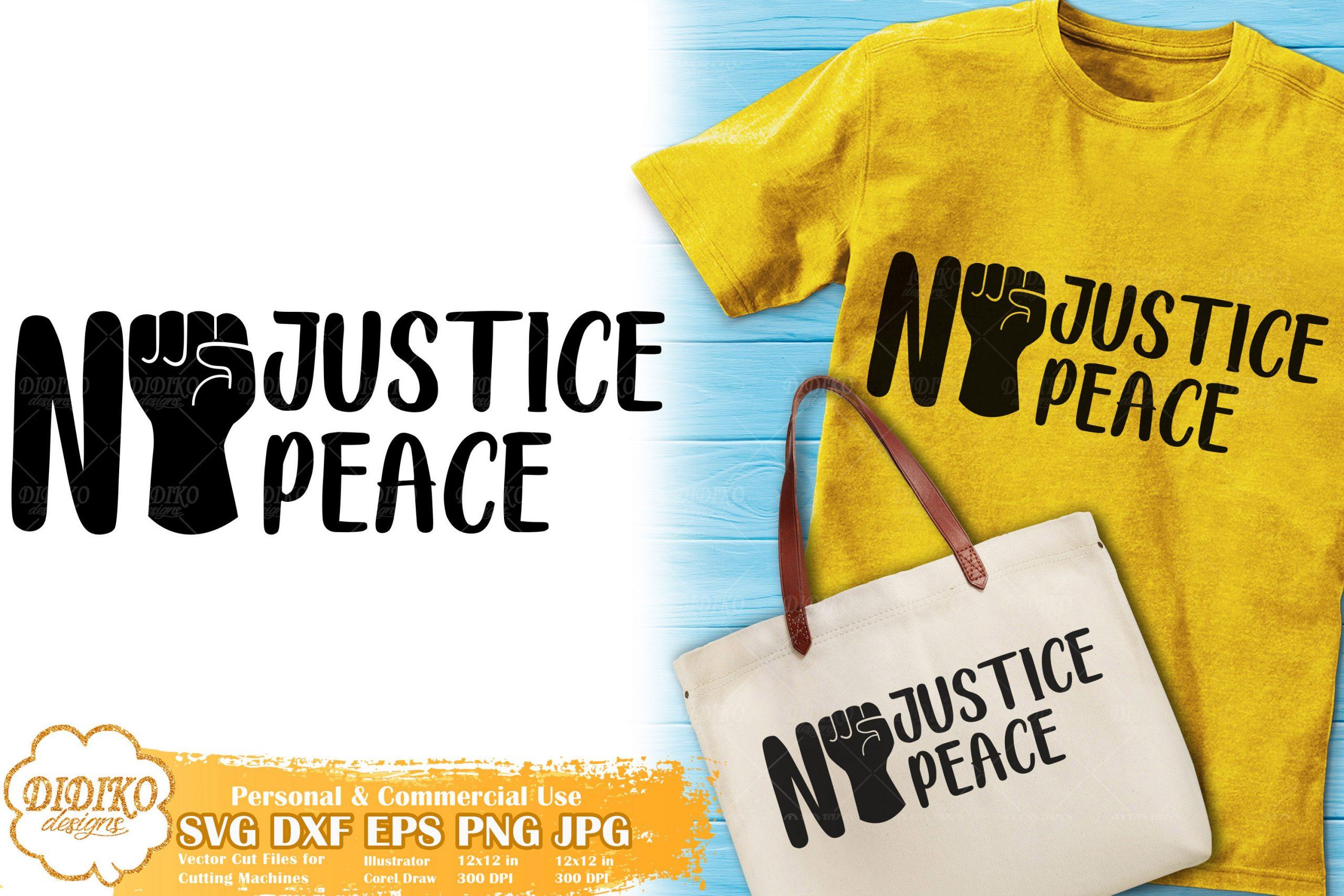 No Justice No Peace SVG #2