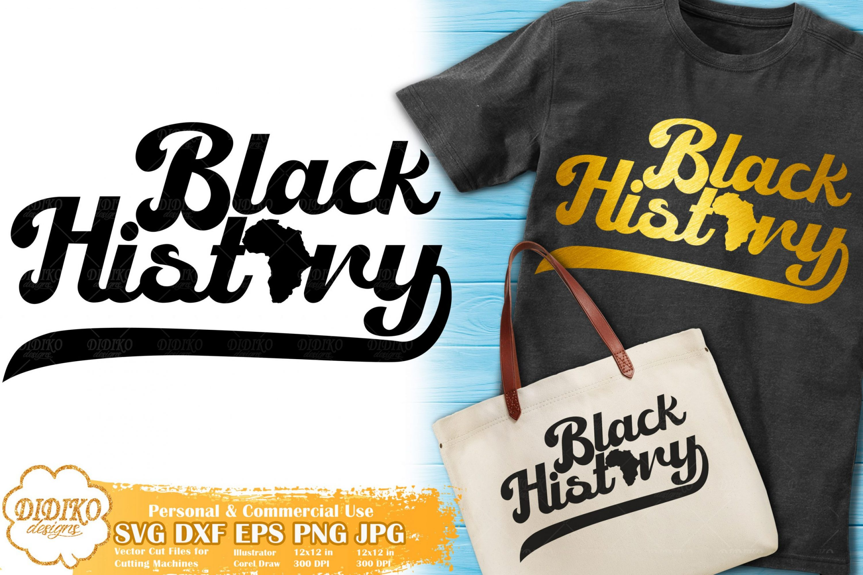 Black History SVG #6 | Retro SVG | Black Lives Matter