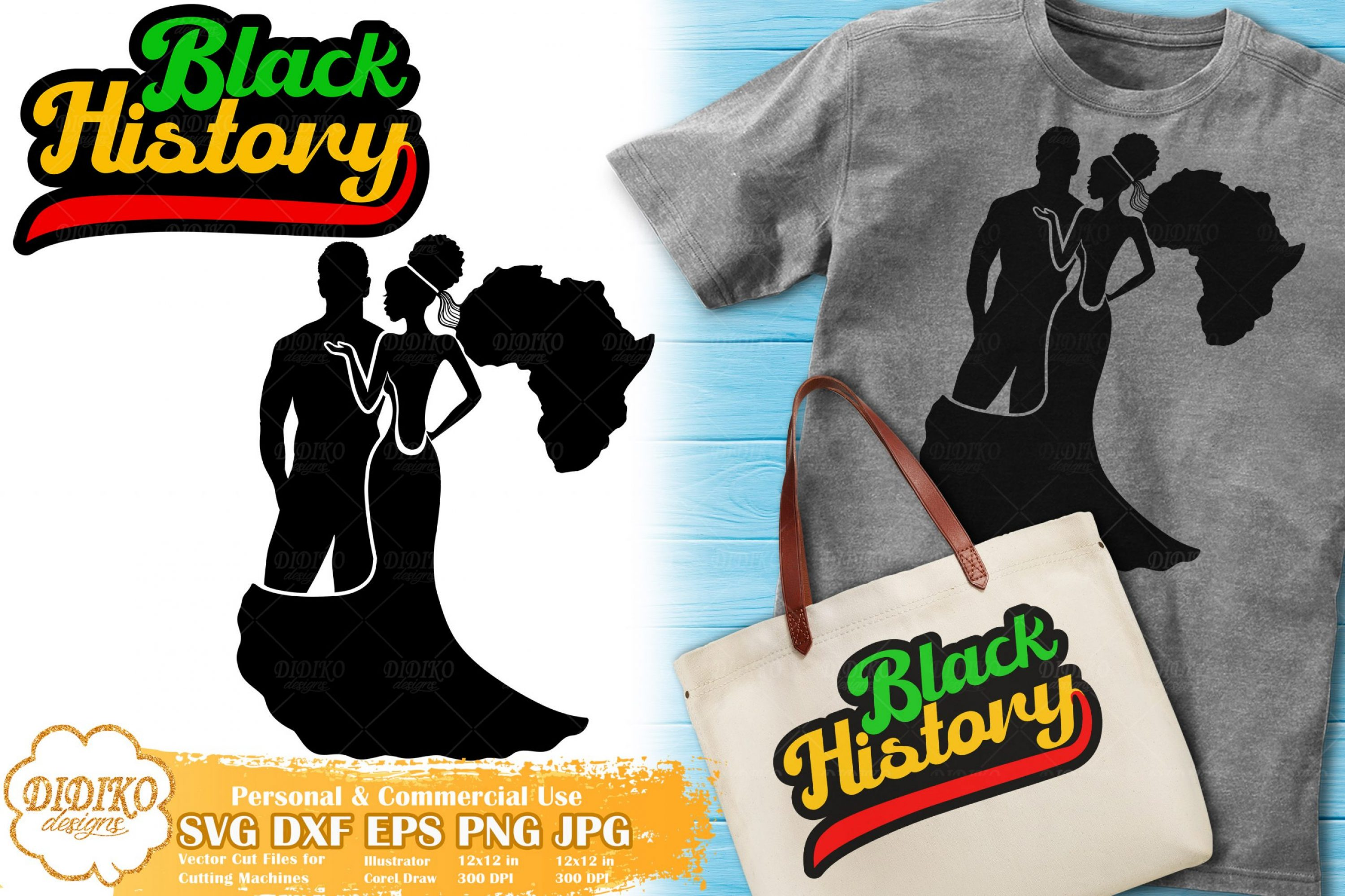 Black History Bundle SVG #5 | Black Lives Matter Svg