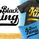 Black King SVG #8