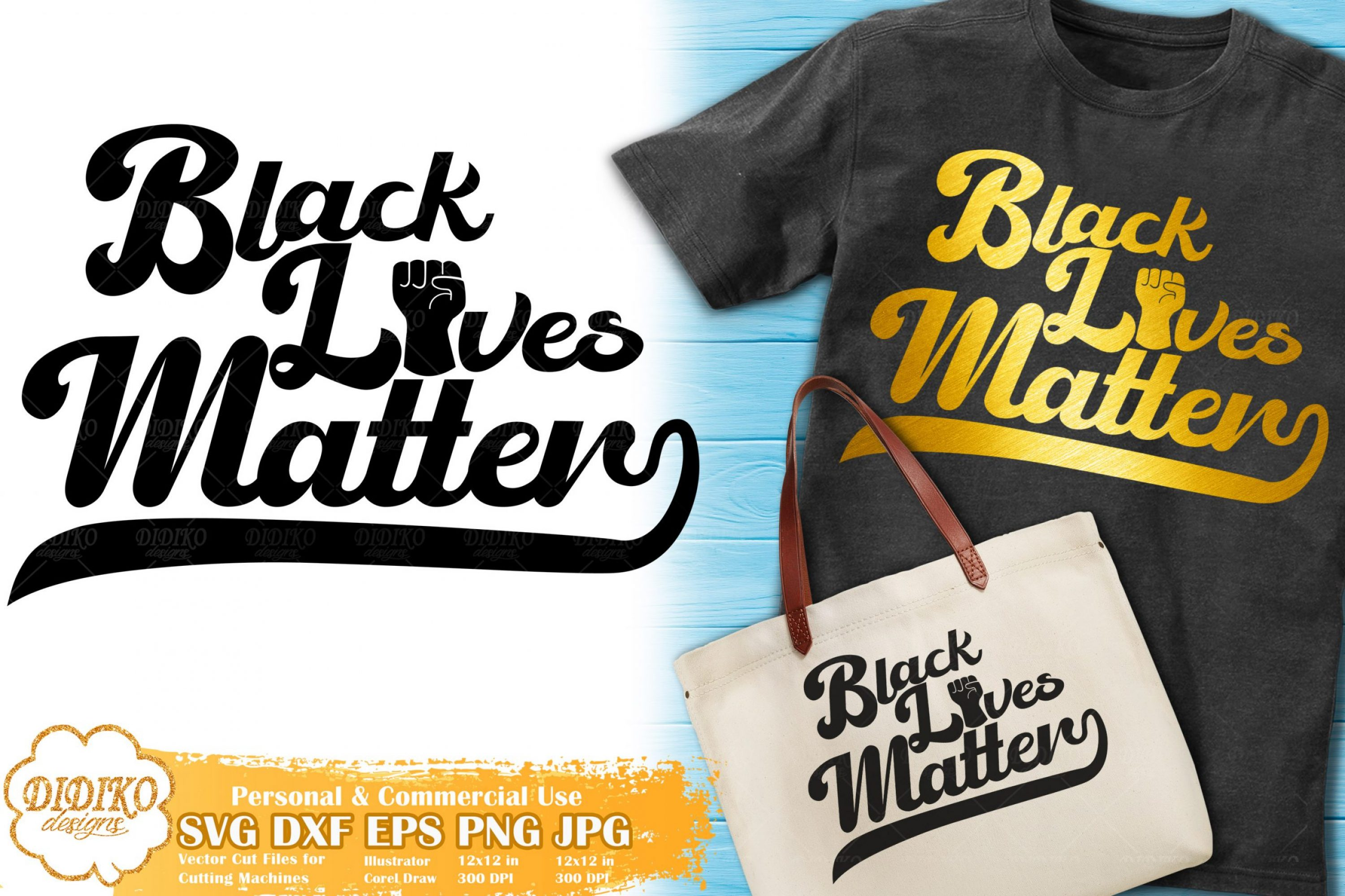 Black Lives Matter SVG #12 | Retro SVG | Black History