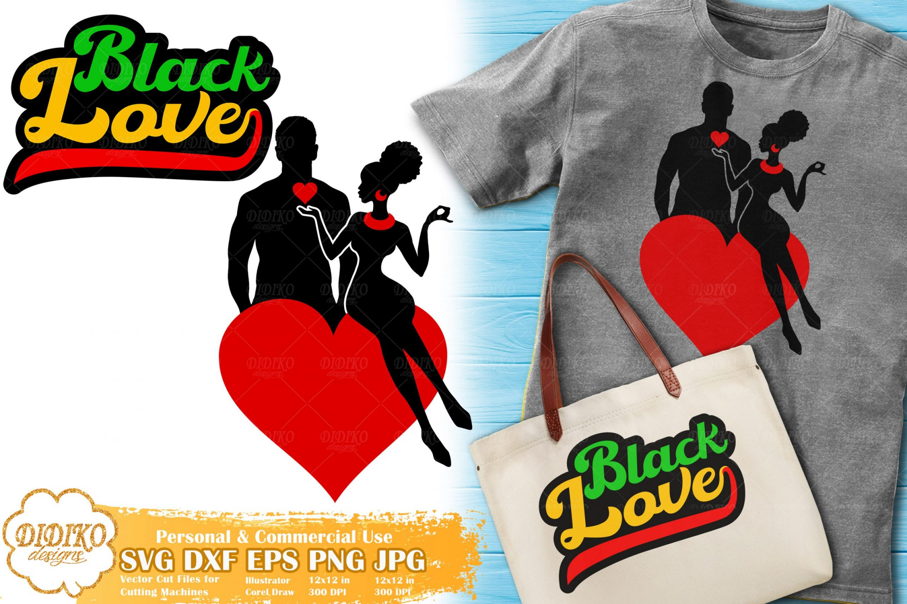 Black Love SVG #2 | Black Woman Bundle svg Cricut file