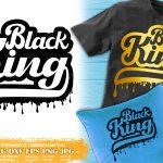 Black King SVG #4
