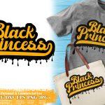 Black Princess SVG #10