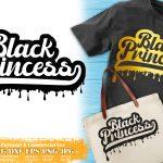 Black Princess SVG #8