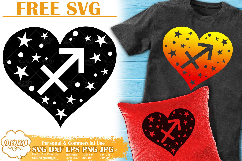 Sagittarius SVG Free | Zodiac Sign SVG | Astrology SVG