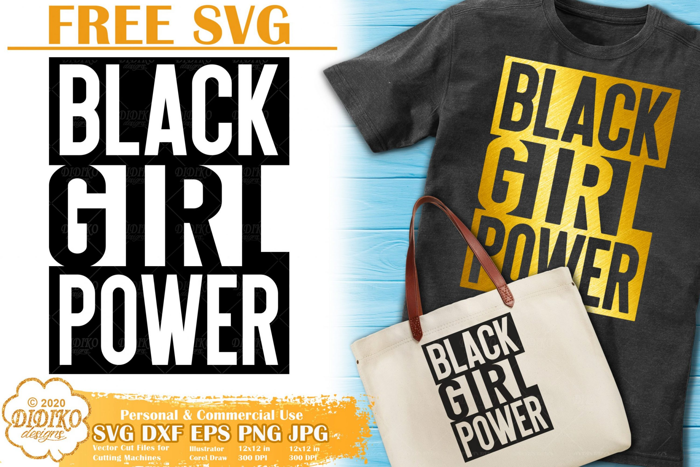 Black Power SVG Free | Black Girl svg | Black Girl Magic