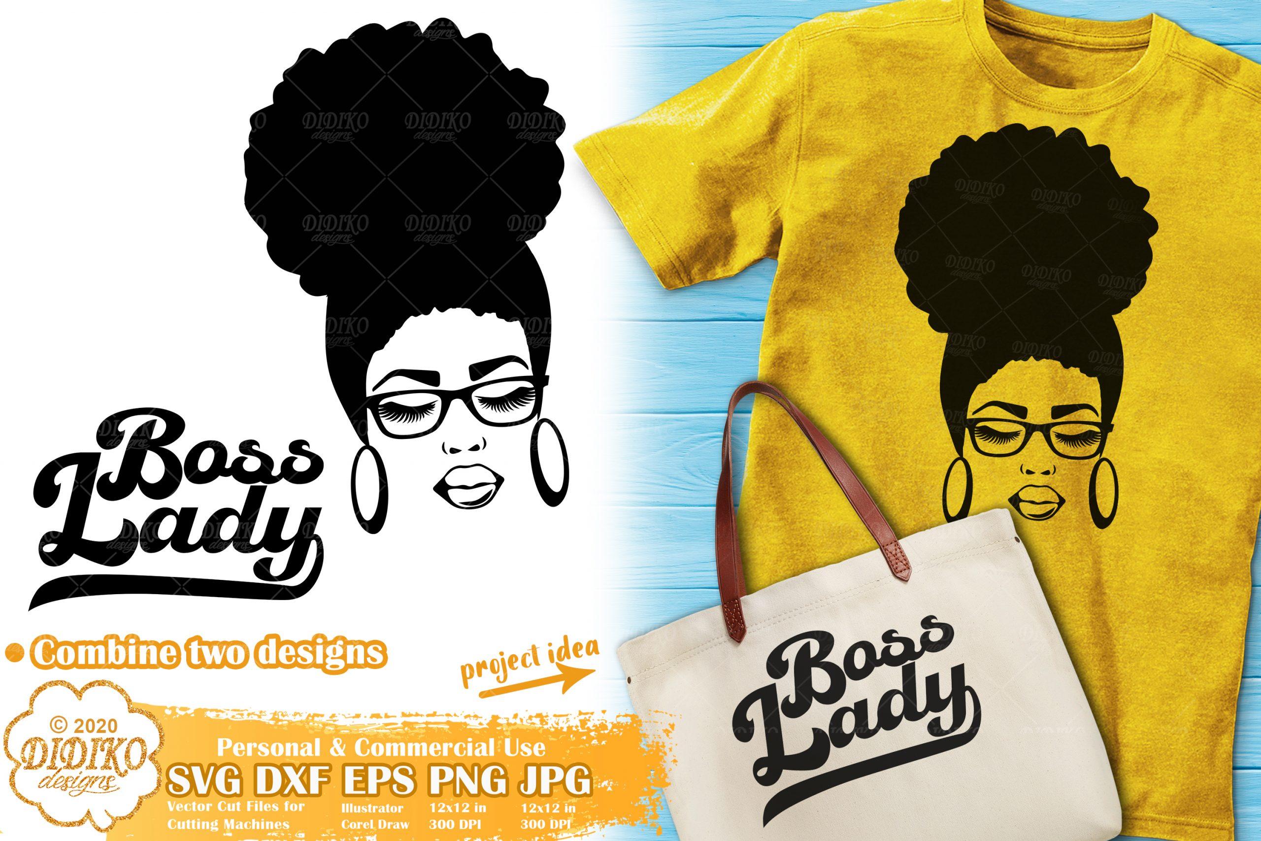 Black Woman Svg Bundle Afro Woman Bundle Svg Didiko Designs