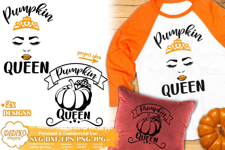 Pumpkin Queen SVG   Fall Mom SVG   Halloween SVG