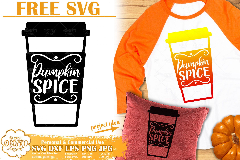 Free Pumpkin Spice SVG | Fall SVG | Free Pumpkin Svg