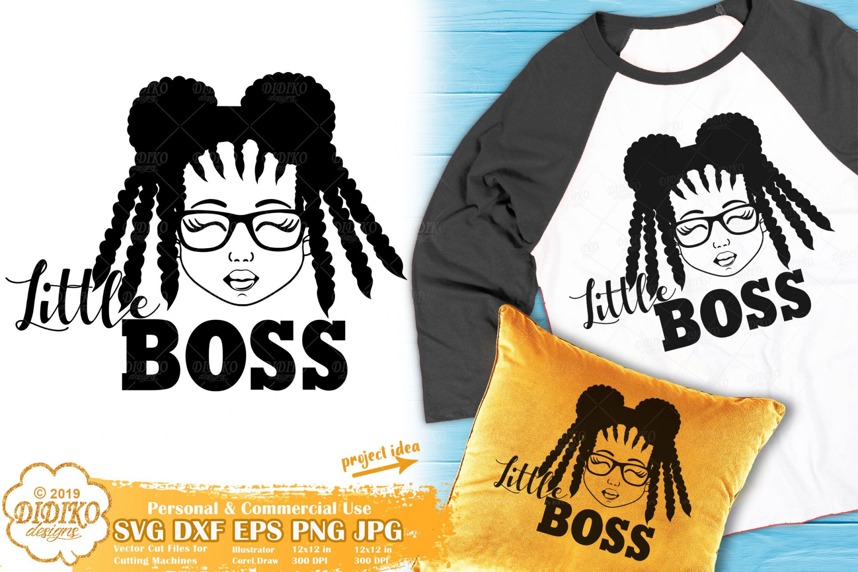 Black Girl SVG #20 | Little Boss SVG | Girl Boss SVG